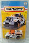2012 MATCHBOX INTERNATIONAL WORKSTAR BRUSH FIRE TRUCK 60 Anniversary