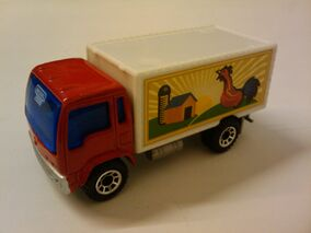 Farming Delivery Truck red