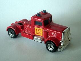 Peterbilt Tractor (Red Yellow)