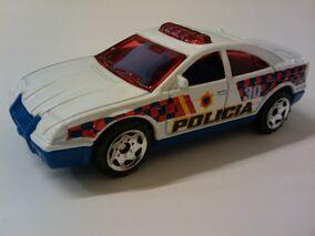 Hero City Police Car int