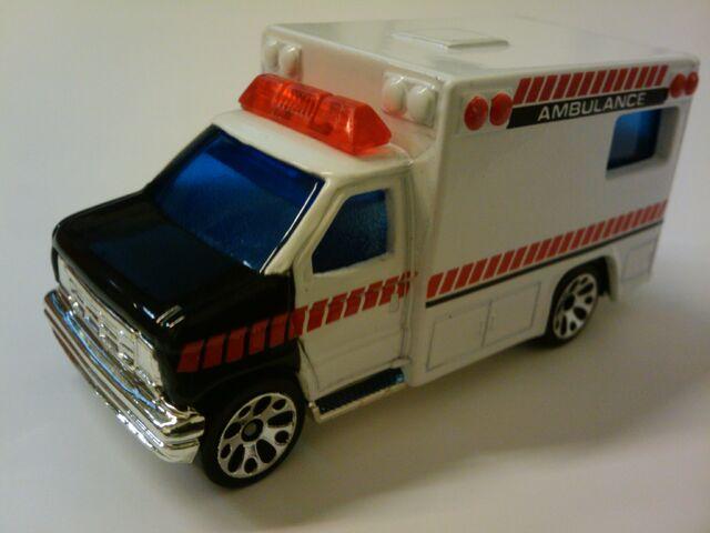 File:Ambulance white and black.jpg