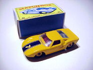 Ford GT 40 Sports Racer (Yellow)