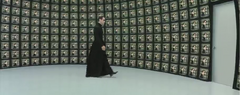 Neo heads to the Matrix