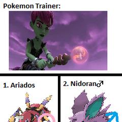 Arcana's Pokemon
