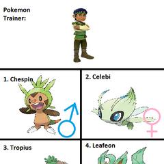 Gomez's Pokemon