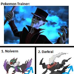 Count Venom's Pokemon