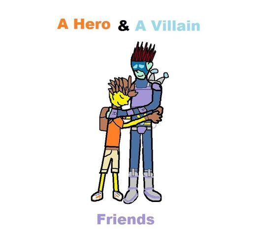 File:A hero and a villain... Friends..jpg