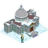 Burns manor snow