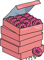 File:Stack of 60 Donuts.png