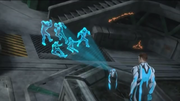 Steel showing traces of Mortum's transdimensional energy