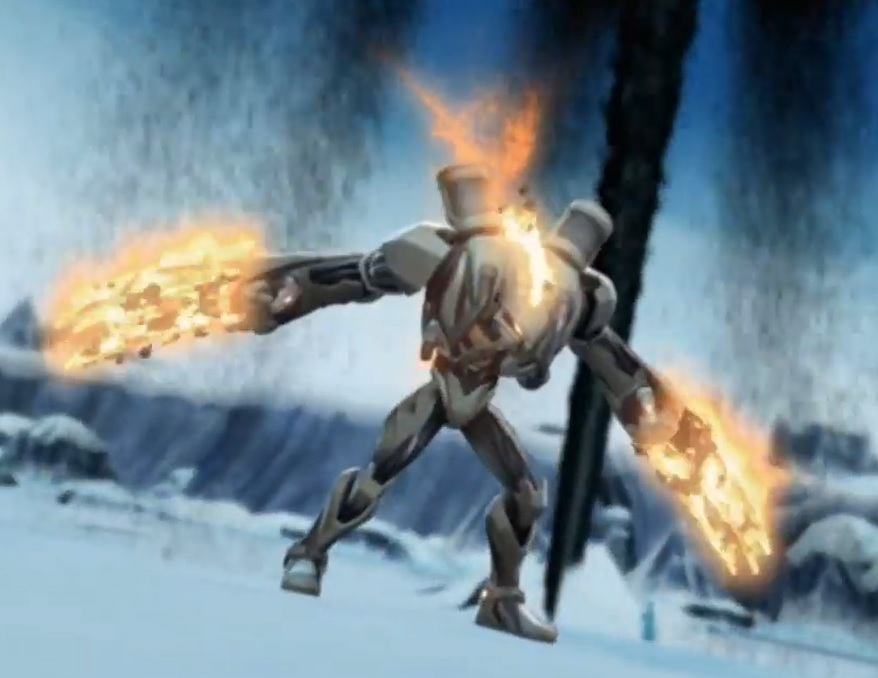 Max Steel Toxzon Flaming Fuel