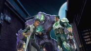 Max Steel Reboot Sewer Monster, Berto, and Forge
