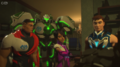 Team Turbo and robot zombie