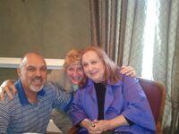Mayberry Days - Rick, Bren & Betty Lynn (Thelma Lou)