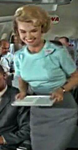 Stewardess to LA