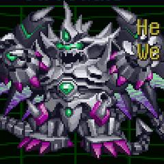 Mecha Gilgilgan in Super Robot Wars α
