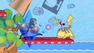 Ssf2 beta effects pikachu zelda