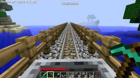Minecraft 0001 My fail bridge