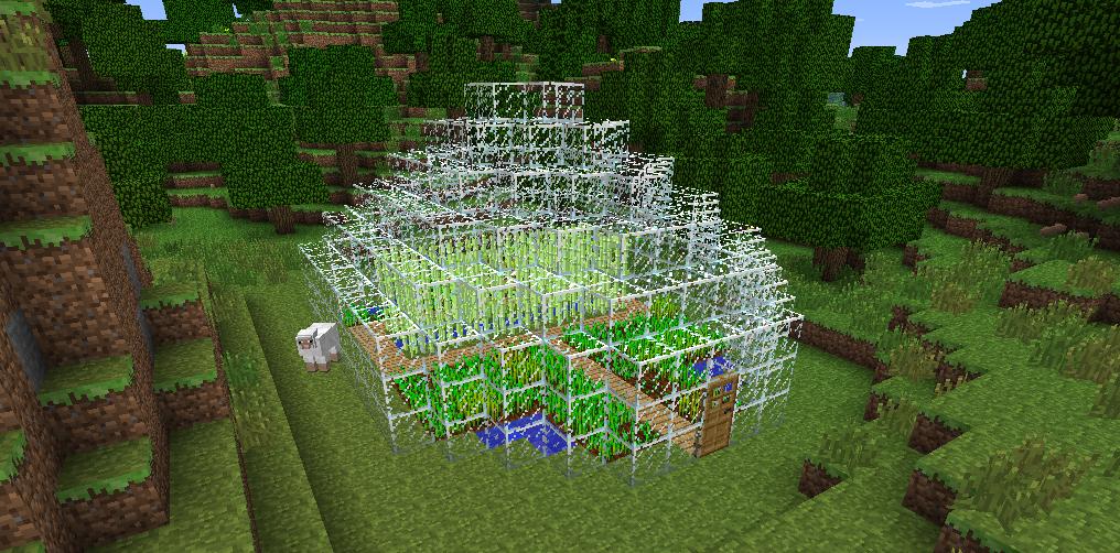 Farm House Minecraft Constuctions Wiki FANDOM Powered