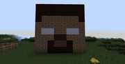 Minecraft herobrine head by xminyoungie-d50a6qt