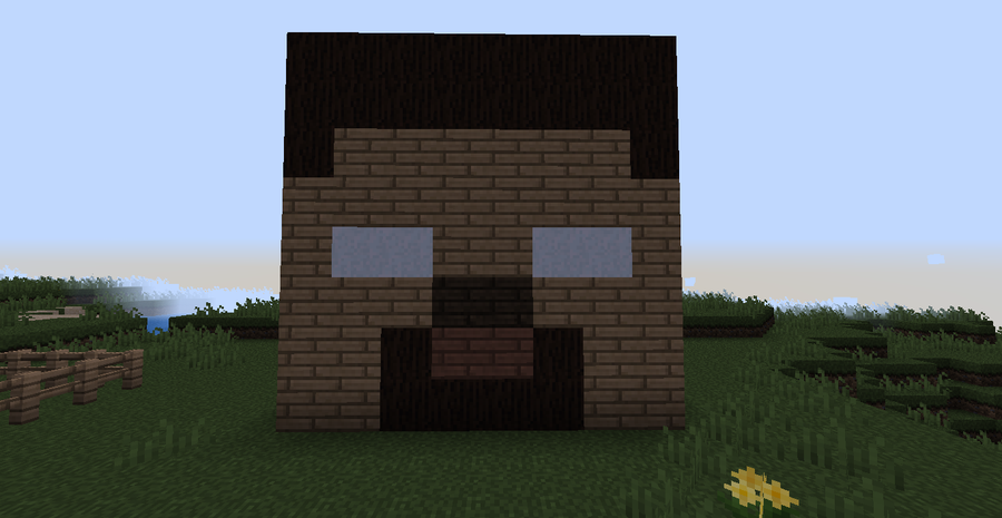 Image minecraft herobrine head by xminyoungie d50a6qt for How to find a builder