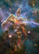 Pillar nebula