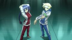 Medaka and Zenkichi ready to train