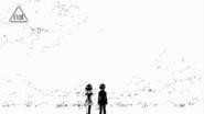 Kumagawa and Sukinasaki in a colorless world