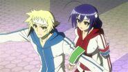 Zenkichi defends Medaka