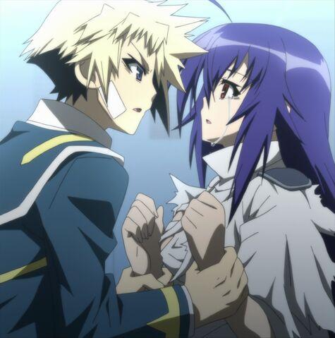 File:Zenkichi takes Medaka II's hands.jpg