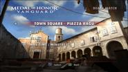 Piazza Ragu Menu Screen