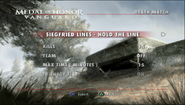 Hold The Line Menu Screen