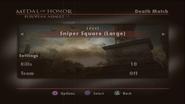 Sniper's Square Menu Screen