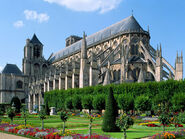 Cathedral of st. etienne bourges france