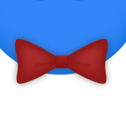 File:Fancy Red Bowtie.png