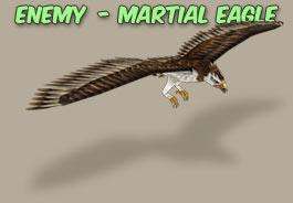 Martial eagle icon