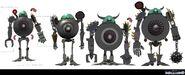 Robots Hagelis