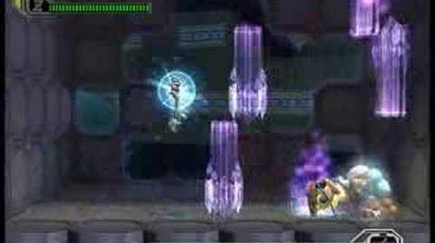 Megaman X8 Earthrock Trilobyte Hard mode no wall no damage