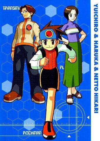 File:1.05) Hikari Netto & Hikari Yuichiro & Hikari Haruka.JPG