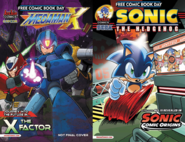 Sonic & Mega Man Free Comic Book Day 2014