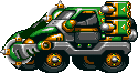 Mad Taxi Green