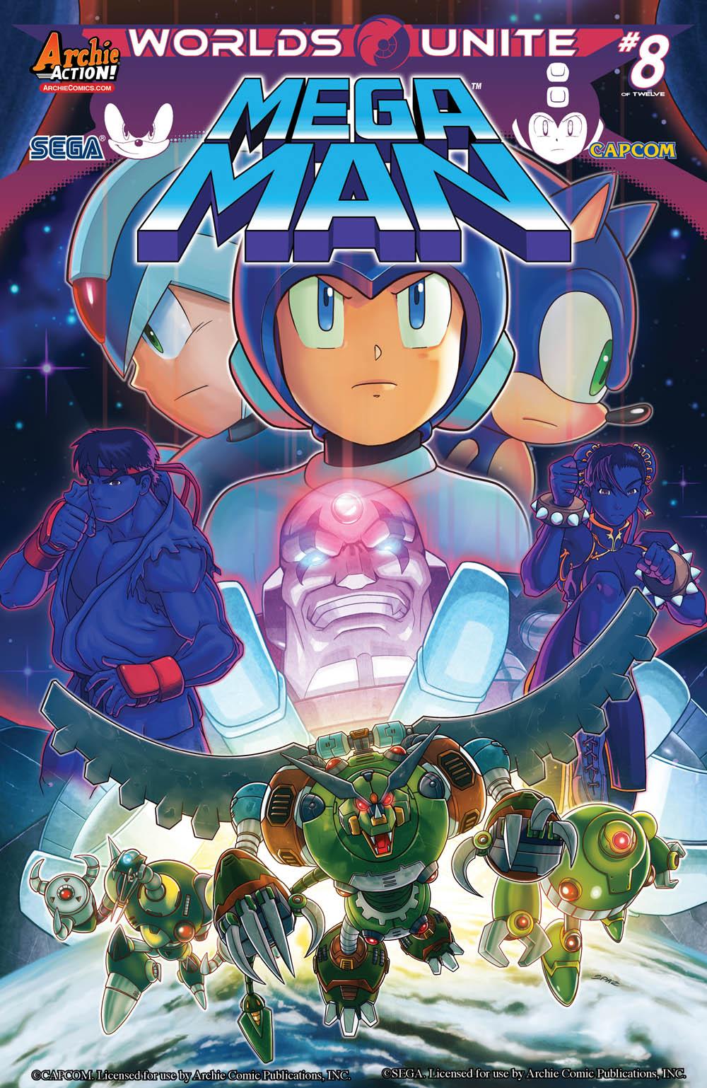 Mega man issue 51 archie comics mmkb fandom powered - Megaman wikia ...