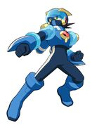 Megamancross aqua