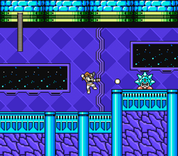 MegaMan Revolution Game Cyro Man Stage
