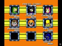 Mega Man OP stage select 19-2-17