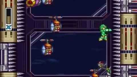 Mega Man X3 - Elevator Skip