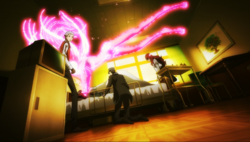 P3M Chidori gets strangle by her Persona