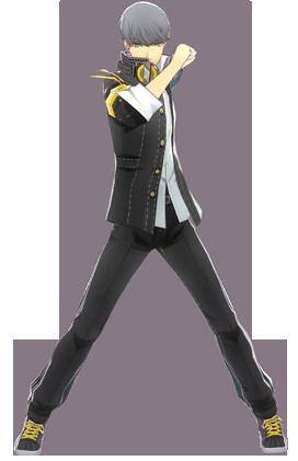 File:P4D Yu Narukami ingame default outfit change.png