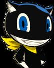 P5 portrait of Morgana smiling
