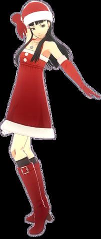File:P4D Yukiko Amagi christmas costume.png